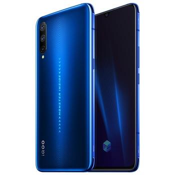 Перейти на Алиэкспресс и купить Vivo iQOO Pro смартфон Snapdragon855 Plus 4500 мАч 44 Вт 6,41 дюймэкран 48MP камера 12 Гб 128 Гб мобильный телефон