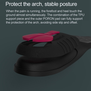 Image 2 - Original Xiaomi PU Slow Shock Running Sports Insole Shoe Pad