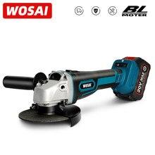 WOSAI – meuleuse d'angle électrique sans fil M14, 20V, Lithium-Ion, Machine de meulage, coupe, outil électrique sans balais