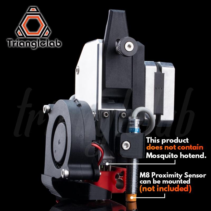 Trianglelab AL-BMG-MQ Extrusora HOTEND kit de atualização para Ender-3 Mosquito/CR-10 CR10S impressora da série Grande de melhoria de desempenho