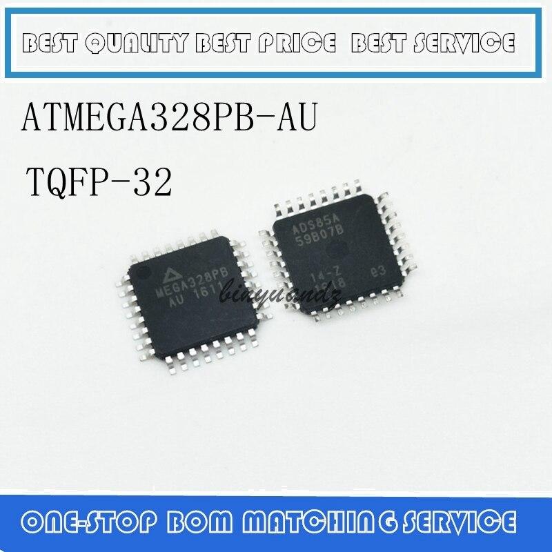 5PCS-20PCS ATMEGA328PB-AU LQFP-32 IC MCU 8BIT 32KB FLASH 32-TQFP MEGA328PBAU MEGA328PB AU MELMEGA328PB-U ATMEGA328P-AUR