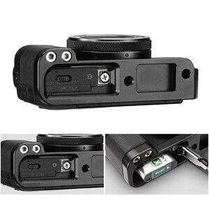 Image 5 - UURig R017 Vlog L Platte für Sony RX100 VII Kalten Schuh Montieren Mikrofon Griff Grip