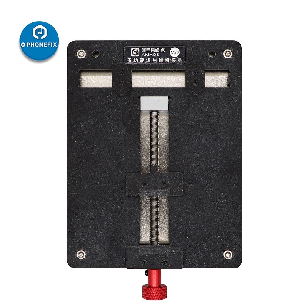 Reparação de Solda Titular do Telefone Ferramenta de Reparo para o Iphone Kit de Ferramentas de Solda Amaoe Fixação Móvel M28 Pcb