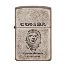 COHIBA Cigar Lighter 2 Torch Gas Cool Gadgets Portable Cigarette Travel Accessories With Gift Box