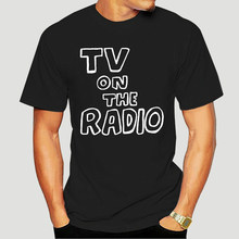 TV On The Radio Men T Shirt Hip Hop Family 4XL 5XL 6XL Cotton Custom Short Sleeve Men T Shirt 1262K(China)