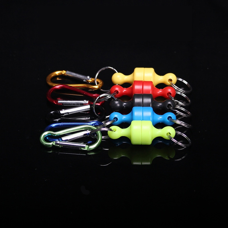 Strong Magnetic Clasps Fishing Tackle Outdoor Sports Climbing Wireless Retention Rope Portable Buckle Multi-color