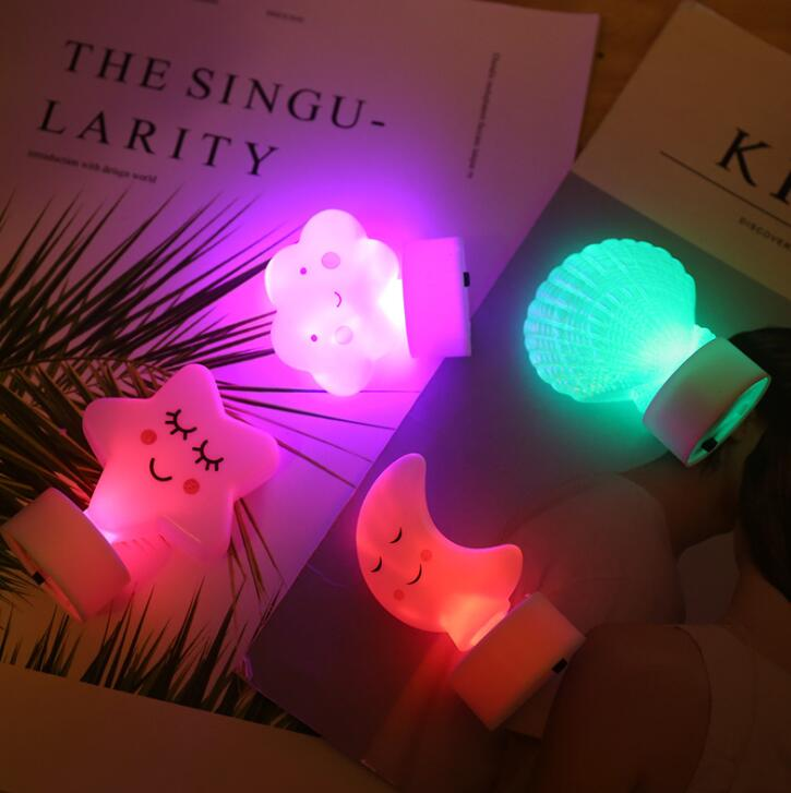 Led Bedside Nightlight Festival Decoration Room Decorated With Variable Color Lights
