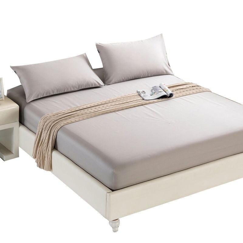 Couverture de lit de ponçage de couleur unie de matelas de haute qualité avec la couverture de matelas multi-jauge
