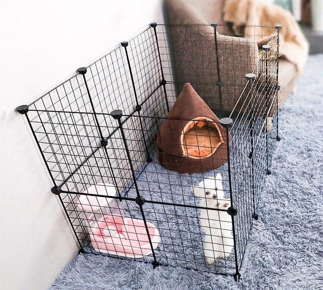 Foldable Iron Pet Playpen  16