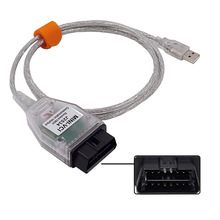 OBD2 Diagnostic Cable for TOYOTA TIS Techstream MINI-VCI FT232RL J2534 V13.00.022 MINI VCI CHR Corolla RAV4 Auris Yaris Avensis