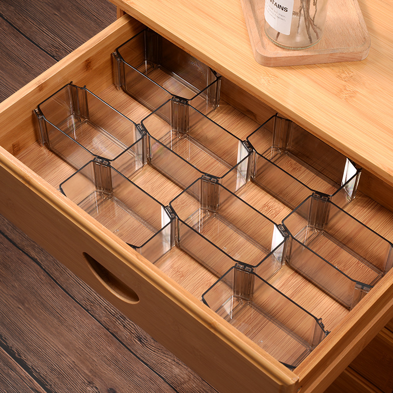 1 PC DIY Honeycomb Sock  Drawer Organizer Sorting Box Creative Combinatiob Divider For Drawer Separator Storage Organizer
