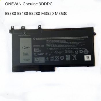 ONEVAN Genuine 3DDDG Laptop Battery For Dell Latitude 5280 5288 5480 5580 5490 5590 5491 5591 5495 5488 M3520 M3530 Series