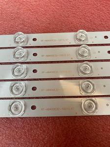 Image 4 - جديد 5 قطعة/الوحدة 10LED 777 مللي متر LED شريط إضاءة خلفي لشركة هيتاشي LE40S508 C400F13 E2 C (G2) RF AB400E32 1001S 01 A7