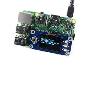 Image 5 - Расширительная плата Waveshare для Raspberry Pi 2B/3B/Zero W 128x64 пикселей, интерфейс SPI I2C SH1106, 1,3 дюймовый OLED дисплей