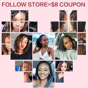 Image 5 - Sleek Brazilian Remy Hair Afro kinky Curly Bulk Human Hair For Braiding 1 Bundle 50g/pc Natural Color Braids Hair No Weft