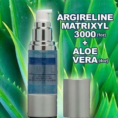 Sérum acide hyaluronique argiills Matrixyl 3000 + 100% pur gel d'aloe vera bio, hydratant et hydratant, anti-âge