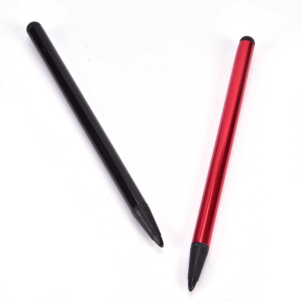 2 In 1 Capacitieve Resistive Pen Touch Screen Stylus Potlood Voor Tablet Ipad Mobiele Telefoon Pc Capacitieve Pen
