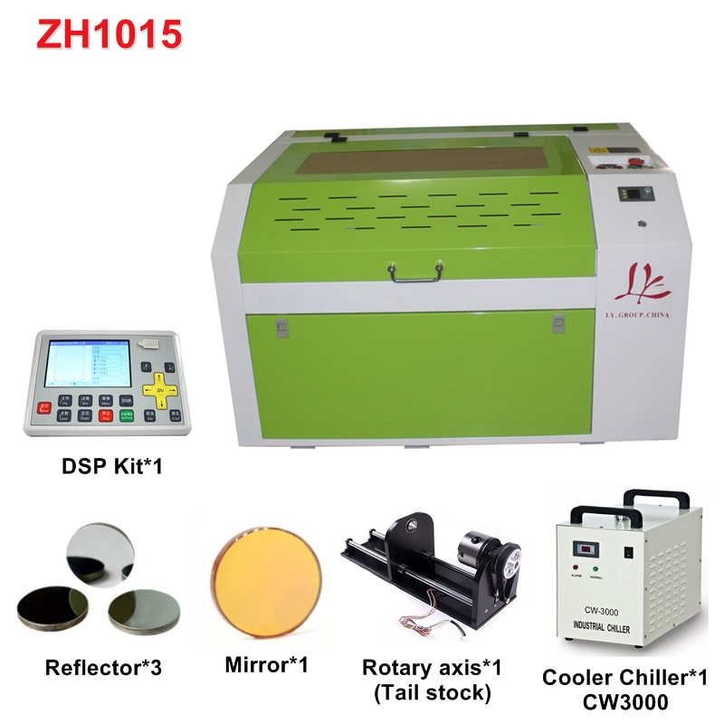 Laser 6040 4060 60W CO2 Laser Engraver Engraving Cutting Machine With LCD Control Panel And Honeycomb Board USB Port