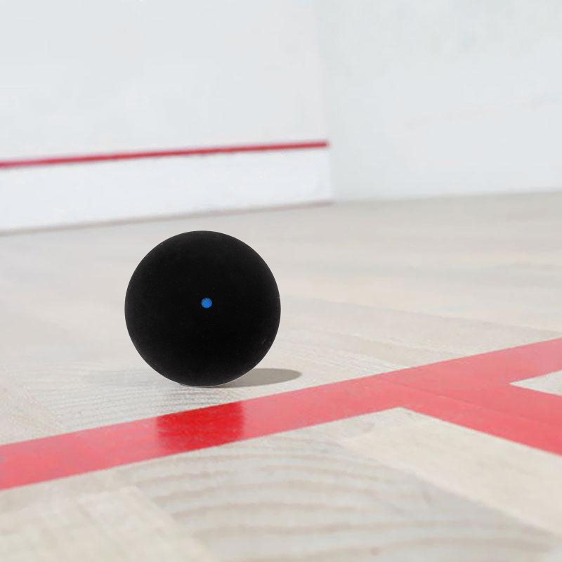 Squash Ball Blue Dot Fast Speed Sports Rubber Balls Professional Player Competition Squash(3 Pcs)