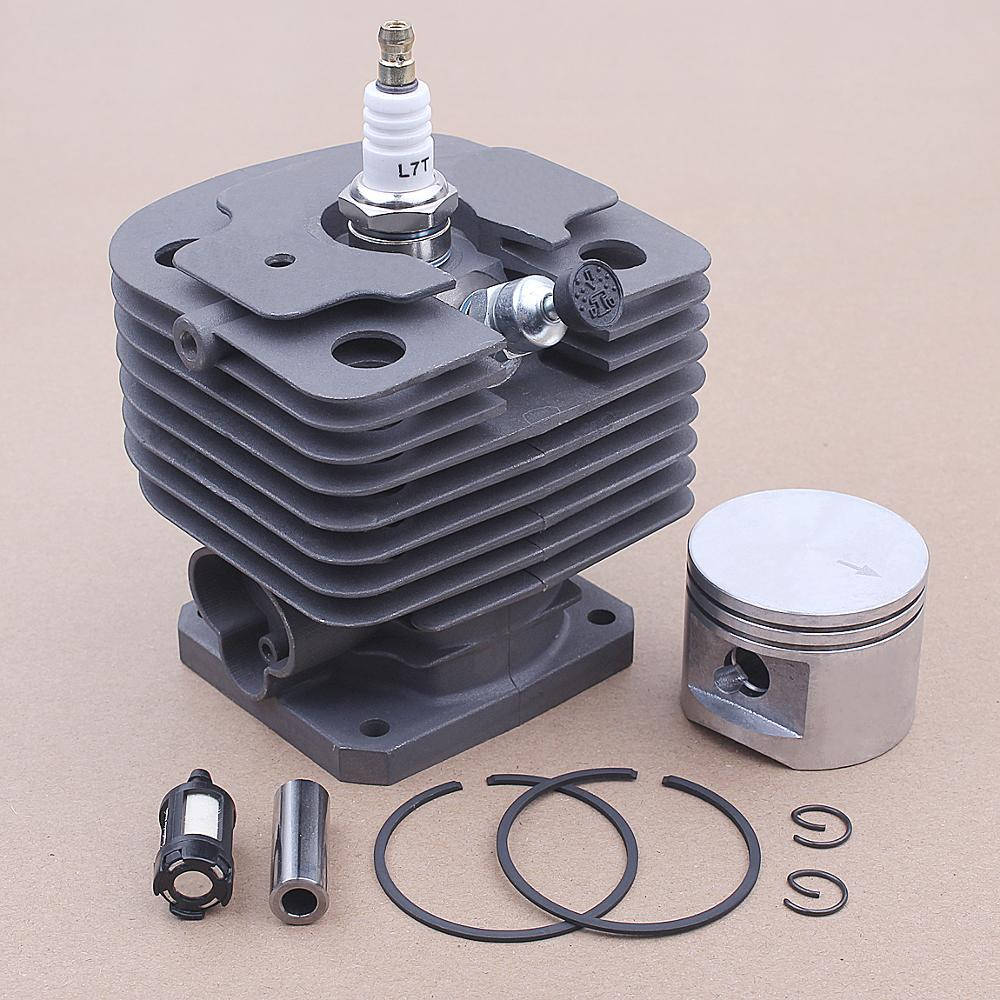Tools : 44mm Cylinder Kit For STIHL FS400 FS450 FS480 SP400 FR450 Chainsaw 4116 020 1215 Spark Plug Fuel Filter Replacement