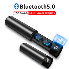 TWS Wireless Earbuds 3D Stereo Mini Bluetooth Earphone 5.0 With Dual Mic Sports Waterproof Earphones Auto Pairing Headset