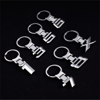 3D Metal Car Logo key ring keychain Chaveiro Car Styling for bmw M 1 3 5 X X1 X3 X5 E3 E5 Z4 E46 E39 E60 E90 E36 F30 F10 image