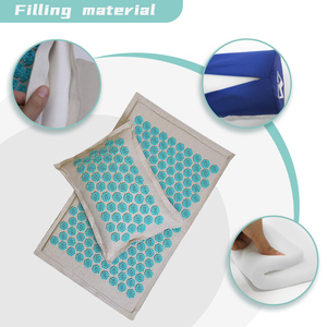 Image 3 - Spike Mat Acupressure Mat, Massage Mat Acupuncture Pillow Set Yoga Mat Needle Relieve Back, Neck and Sciatic Pain, Relax Muscles