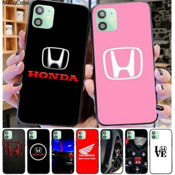 Car brand Honda luxury Phone Case For iPhone 11 7 Case For iPhone 11 Pro Max X XS XR XS MAX 8 7 6s Plus 5 SE Case image