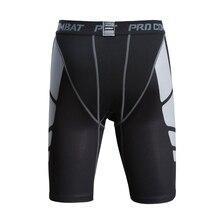 Горячие новые мужские шорты для бега компрессионные дышащие тренировочные штаны для фитнеса облегающие обтягивающие шорты для спортзала