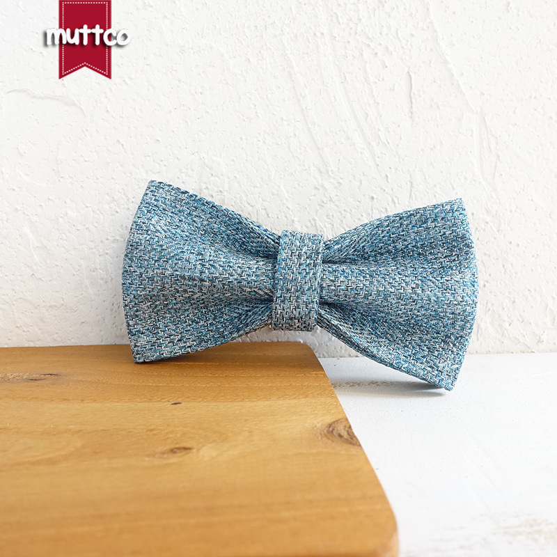 Muttco Western Style Pet Bow Double Layer Dog Accessories Bowtie Bow Tie Ubt-071