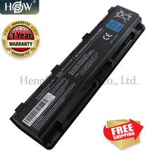 HSW 6Cell New PA5109U PA5109U 1BRS Battery for Toshiba C45 C50 C50D C55 C70 P800 P870 L840 L800 S840 S870 PA5110U PABAS272