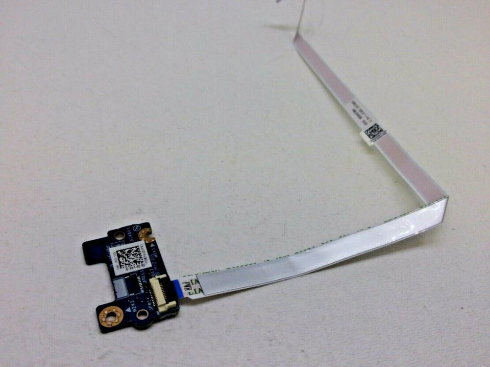 Original FOR Dell Inspiron 7577 <font><b>G5</b></font> <font><b>5587</b></font> Power Button Circuit Board Ribbon XD71F J0DPT image