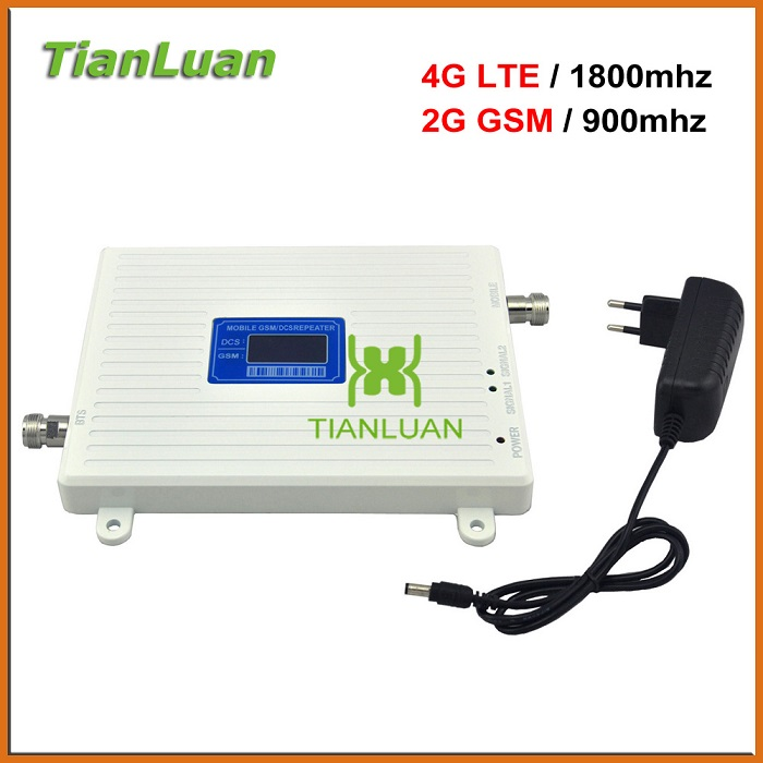 Hot Sale 2G 4g 900mhz 1800mhz LTE Network Signal Repeater