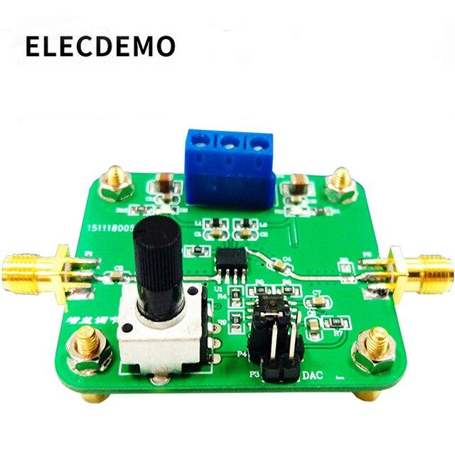 VCA810 Modul Spannung Control Gain Verstärker Einstellbare Verstärkung 40dB zu + 40dB Elektronische Rennen Modul Echte