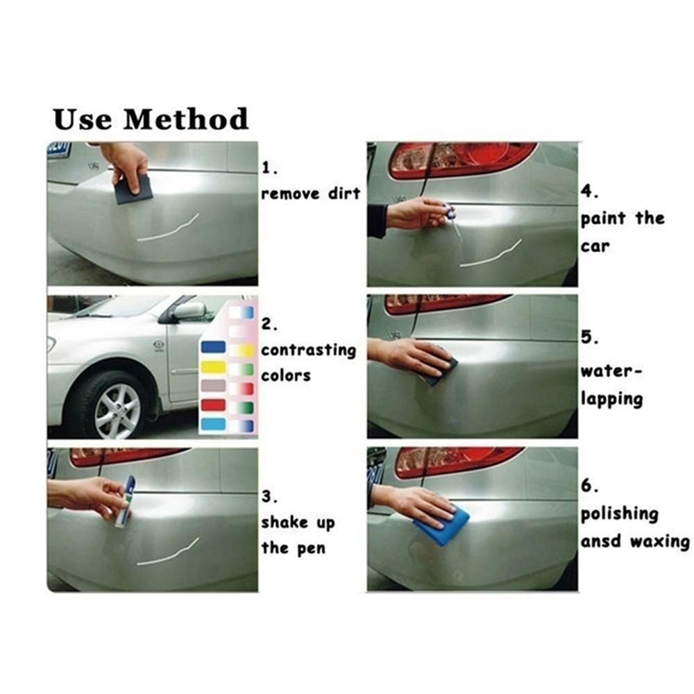 Image 2 - Professional Car Auto Coat Scratch Clear Repair Paint Pen Touch Up Waterproof Remover Applicator Practical Tool-in Painting Pens from Automobiles & Motorcycles