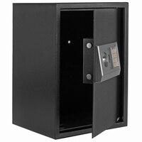【미국웨어 하우스 】 E50EA 홈 비즈니스 보안 키패드 잠금 전자 디지털 스틸 안전 블랙 박스 & 실버 그레이