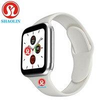 Mężczyzna kobieta inteligentny zegarek 44mm pulsometr seria 5 sport Smartwatch dla Apple Watch iOS 9 10 iPhone 8 Android telefon pk iwo