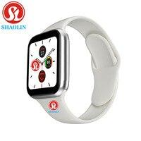 Reloj inteligente deportivo para hombre y mujer, pulsera con Monitor de ritmo cardíaco, 44mm, serie 5, para Apple Watch iOS 9 10 iPhone 8 Android Phone pk iwo