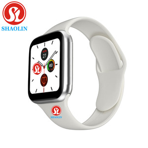 Image 1 - Man Woman Smart Watch 44mm Heart Rate Monitor Series 5 Sports Smartwatch for Apple watch iOS 9 10 iPhone 8 Android Phone pk iwo