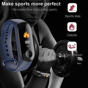Image 3 - SHAOLIN – Bracelet connecté, moniteur de fréquence cardiaque continue, écran tactile, moniteur dactivité physique, TPE