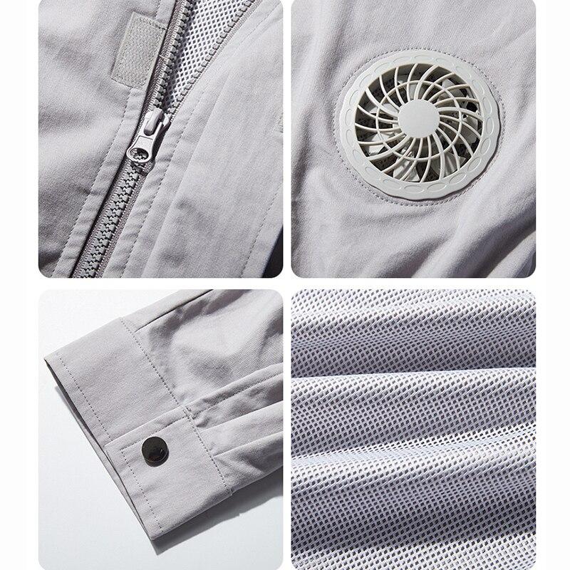 refrigeracao jaqueta homem roupas de ar condicionado 05