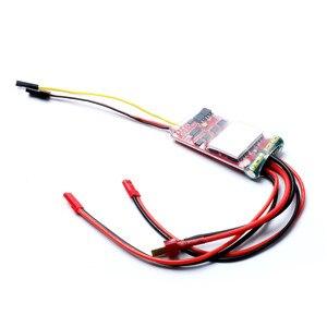 Image 3 - 20A x 2 양방향 브러시 ESC 듀얼 웨이 ESC 전자 레귤레이터 (RC DIY 보트 제어 부품 용 고속 380 모터 포함)