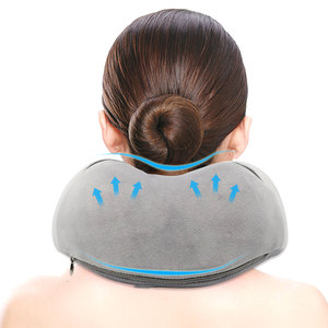Image 2 - U Shaped Memory Foam Neck Pillows Soft Slow Rebound Space 30*28*14CM Cervical Healthcare Bedding Drop Shipping Travel Pillow