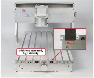Image 5 - 3040 cnc рамка 400*300 мм токарный шариковый винт с 57 мм гравировальный двигатель сверлильные и фрезерные инструменты