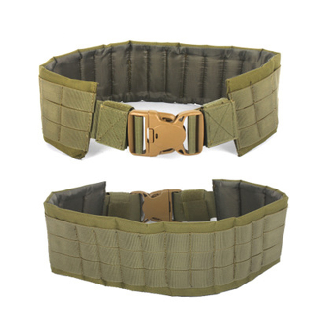 2019 New tactical molle belt  Function military Tactic climb Waist Seal More Function Man Other Belt MOLLE Load Belt Waist Bring 5