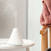 Volcanic Air Ultrasonic Humidifier with LED Light Essential Oil Diffuser Aroma Diffuser USB Humidifiers Air Freshener Mist Maker|Humidifiers| |  -
