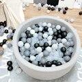 200 шт./лот  пластиковые шары  экологически чистый красочный шар  мягкая детская игрушка для плавания  открытый шар  водный бассейн  океан  вол...