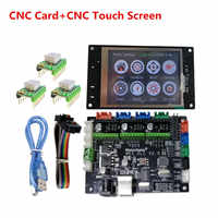 GRBL 1.1 OFF-LINE CNC laser shield control plate motherboard + TFT32 CNC display DIY parts for CNC 3018 Prolaser engraver