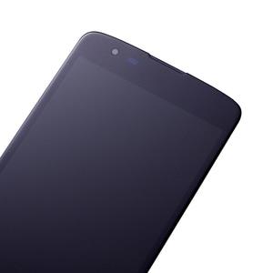 Image 4 - חדש 5.0 LCD עבור LG K8 LTE K350N K350E K350DS LCD תצוגה עם מסך מגע Digitizer עצרת