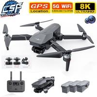 Ceevennesfe-Dron con cámara HD 8K, 5G, Wifi, 3 ejes, cardán EIS, antivibración, GPS, FPV, 30 minutos de tiempo de vuelo, helicóptero RC, 2021